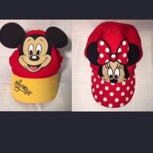 Disney Parks Minnie / Mickey Ears Hats Child